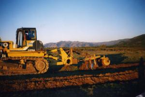 Bulldozer con accesorios